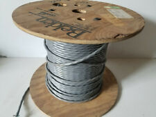 12 Ft Belden 8719 16/1P 16awg Twist Pair Shielded Audio/Communication Cable Gray