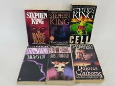 Stephen King Paperback Book Lot of 6