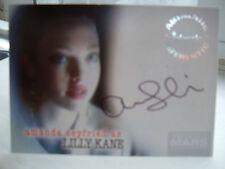 Veronica Mars Amanda Seyfried Lilly Kane Autograph card A6