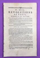 Tréguier en 1789 Côtes d'Armor Bretagne Alençon Mont-Jura Anjou Bastille