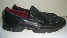 ROCKPORT XCS Black Leather Casual Slip On Loafer SHOES Men's size 12