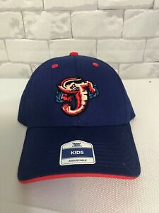 Jacksonville Jumbo Shrimp Minor League Baseball Kids Hat Cap