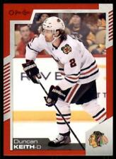 2020-21 UD O-Pee-Chee Red Border #18 Duncan Keith - Chicago Blackhawks