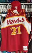 New listing Authentic Dominique Wilkins Atlanta Hawks Mitchell & Ness Jersey 48 XL Nike