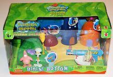 Spongebob Squarepants Bikini Bottom Playset OSS MISB MISP Sealed 2003 Mattel