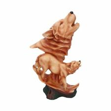More details for new natural melody wolf figure statue nemesis now gift 38cm h5038