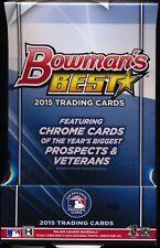 2015 Bowman's (bowmans) Best Baseball Hobby Box- 4 Autos Kris Bryant RC & Auto