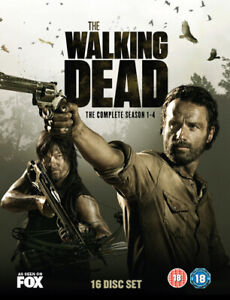 The Walking Dead: The Complete Season 1-4 DVD (2014) Andrew Lincoln cert 18 16