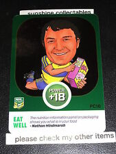 2015 NRL POWER PLAY POWER CARD PC16 NATHAN HINDMARSH EAT WELL