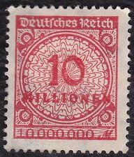 NO 863A-Germany: 1923 Numeral 10,000,000 Mks.double value error Mi 318A P DD M/H