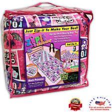 ZIP It Rocking Princess Bedding 100% Polyester Comforter Beds