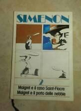 Simenon 2 Maigret e il caso Saint-Fiacre  Maigret e il porto delle nebbie