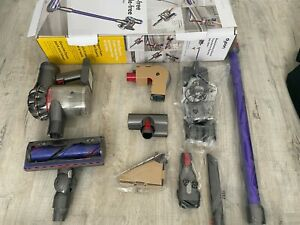 Dyson V7 Animal Cordless Vacuum Cleaner - Purple with Brand New Parts