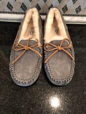 Women's UGG Dark Gray Dakota Slippers- size 7- #5612