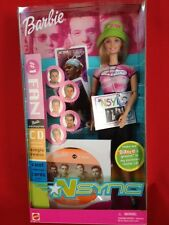 NSYNC Barbie Doll #1 Fan 2000 Sealed in Box with CD 3+ and Up