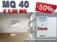 MQ 40 di CLIMAFORM 3mm pannelli cappotto isolamento termico acustico e umidità