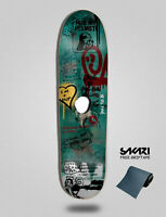 SKATE MENTAL Deck monopatin Skate Skateboard Cruiser SM X HUF Glory Hole 8.75