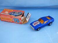 Vintage Matchbox Rolamatics 10 Ford Boss Mustang Piston Popper Mach 1 Toy Car
