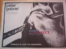 PETER GABRIEL Shock The Monkey 1982 UK Giant size Press ADVERT 16x24 inches