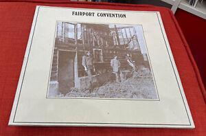 Fairport Convention - Angel Delight - Island Records Pink Rim 1971 1st Press EX