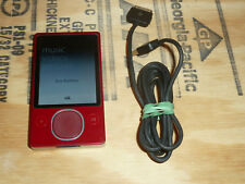 Microsoft Zune 80Gb Red Digital media Player WiFi Model 1126