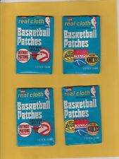 1974 Fleer Cloth Basketball Unopened Pack Near Mint With Slit at top