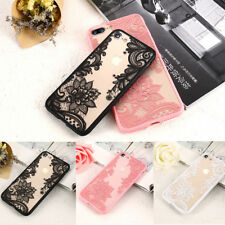 KISSCASE Luxury Flower Lace Sexy Lady for iPhone Xr Xs Max X 7 8 Plus 5  Case