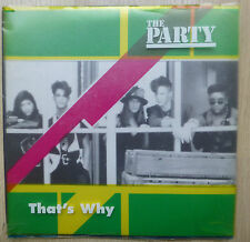 """The Party Thats why / Adult Decision 1991 7"""" Vinyl"""