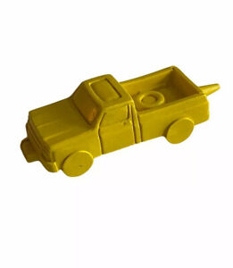 Vintage Mattel Craft House Hot Wheels Truck Yellow Crayon Pickup 70s