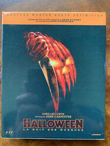 Halloween Blu-ray + DVD + Book Ltd Ed French Box Set 1978 Slasher Horror Classic