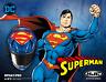 HJC RPHA 11 PRO DC COMICS SUPERMAN MOTORCYCLE HELMET LARGE  FREE DARK SHIELD