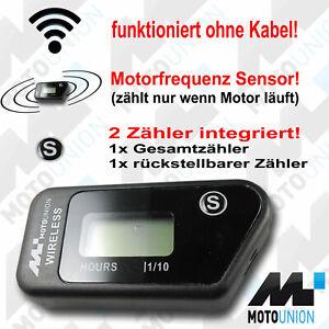 Betriebsstundenzähler Wireless Vibration NEU Stundenzähler