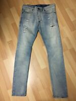 NWD Mens Diesel DNA MADE ITALY THEPPAR STRETCH Denim 084DM BLUE SLIM W31 L32 H6