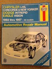 HAYNES 25025 CHRYSLER LHS CONCORDE NEW YORKER DODGE INTREPID EAGLE VISION 93-97