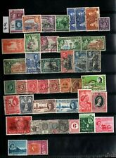 BRITISH COLONIES LOT OF OLD STAMPS # 18W            SF