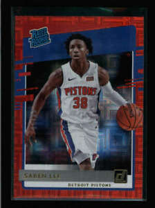 SABEN LEE 2020/21 DONRUSS #221 RATED ROOKIE RED CHOICE #60/99 BA7680