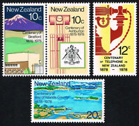 1978 New Zealand~Centenaries~Unmounted Mint~Stamp Set~ UK Seller~