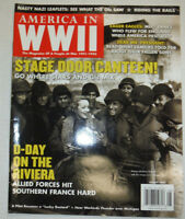 America In WWII Magazine Stage Door Canteen & D-Day august 2006 021715r2
