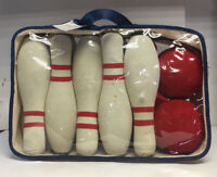 10 Pin 2 Ball Foam Bowling Set/ Pottery Barn Kids Product
