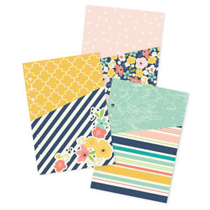 Simple Stories, POSH COLLECTION, A5 double-sided 300 gsm pocket inserts,  #4956