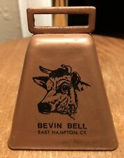 VTG Belvin Bell Small Copper Metal Cow Bell ~Ranchers~Dairyman~Cattle~Sheep