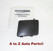 NEW 2013-2015 Nissan Sentra Front Bumper Tow Eye Hook Access Cover Cap,OEM
