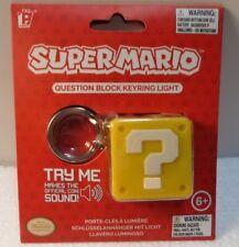 Nintendo Light & Sound Key Chain - Super Mario *** Brand New ***