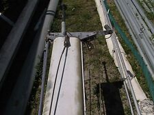 """30 feet 3 inch Aluminum Sailboat Mast (7.0"""" x 4.0"""") Fully rigged with Spreaders"""