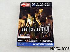 Biohazard 0 Resident Evil Japanese Import Nintendo Gamecube GC JP US Seller B