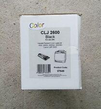 CLJ 2600 Original Color BLACK HP Laserjet Toner