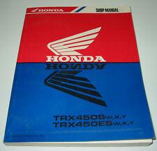 Werkstatthandbuch Honda Quad TRX 450 S / ES Shop Manual Stand 1999