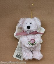 Boyds Bears Plush Orion Angel Bear Ornament Ret Christmas Ornament