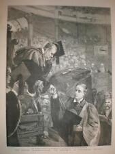 Lord Rosebery riceve Diploma Università di Oxford 1893