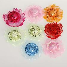 10pcs Cute Sparking Sequined Party Hats Lace Topee Caps for Barbie Dolls